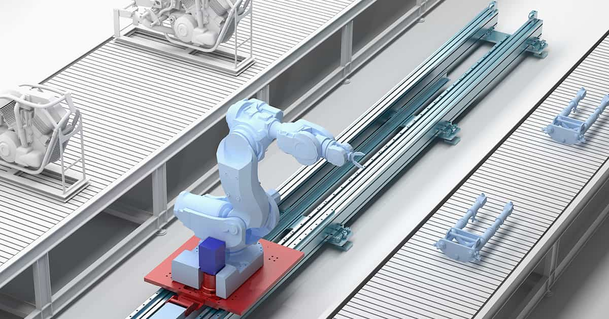 Eine siebte Achse für Roboter bringt viele Vorteile