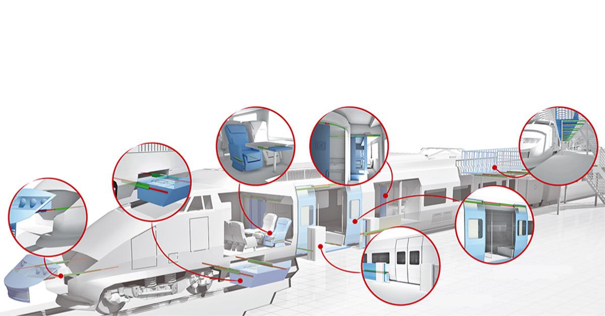 Induktionsgehärtete Linearführungen für die Schienenfahrzeugtechnik