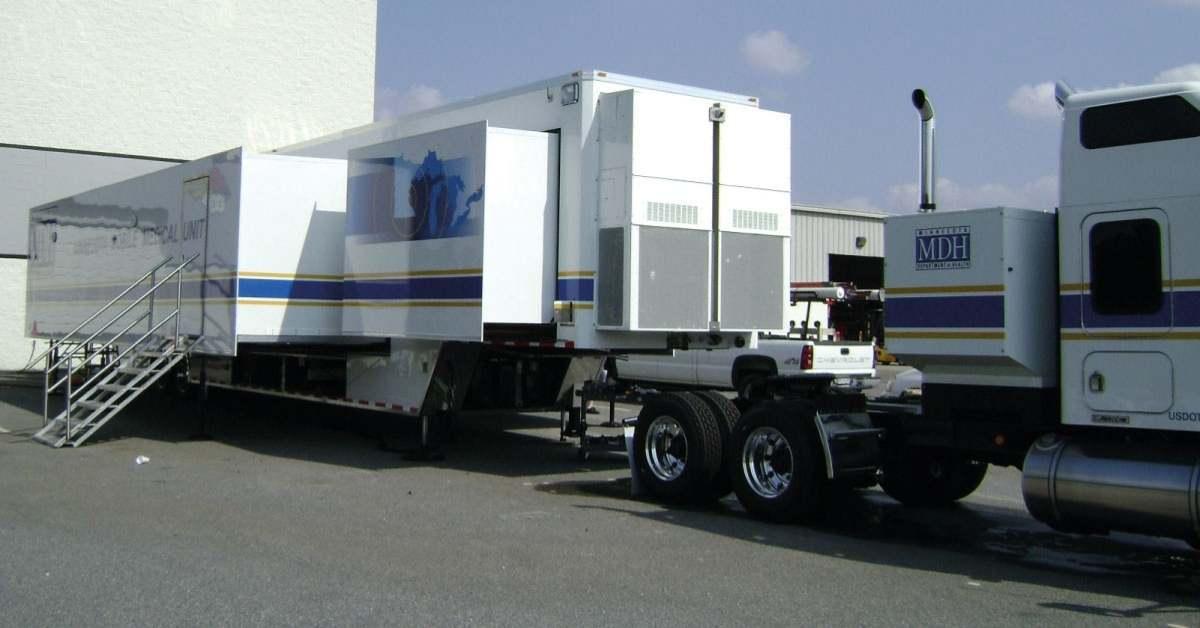 Progettare unità medicali mobili con i sistemi di guide lineari