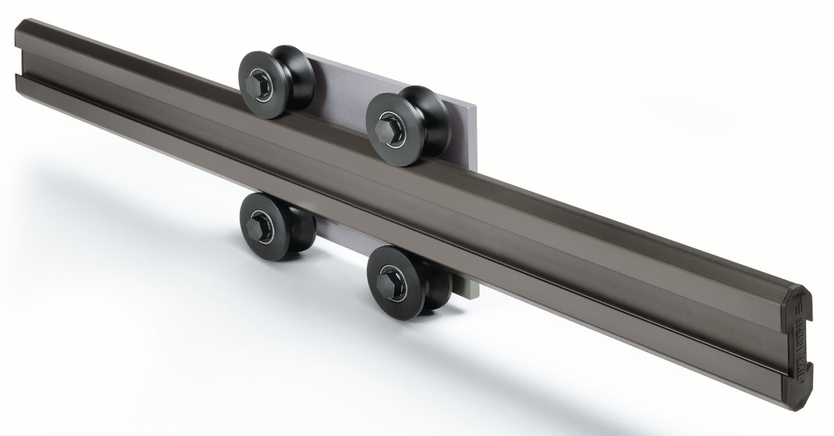 Speedy Rail di Rollon: zero lubrificazione e bassa rumorosità
